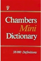 Chambers Mini Dictionary 38000 Definitions