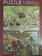 Love Evening Cafe (2X1000) Puzzle