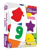 Miracle Flashcards - Colours, Numbers and Shapes 30 Cards